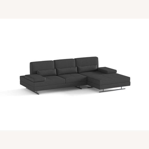 Used Lazzoni Mony Chaise Lounge Sofa for sale on AptDeco