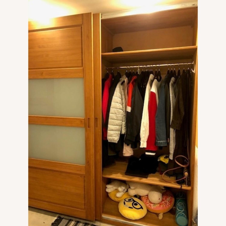 Hardwood Large Wardrobe - image-5