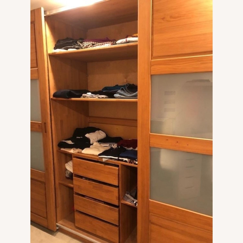 Hardwood Large Wardrobe - image-3