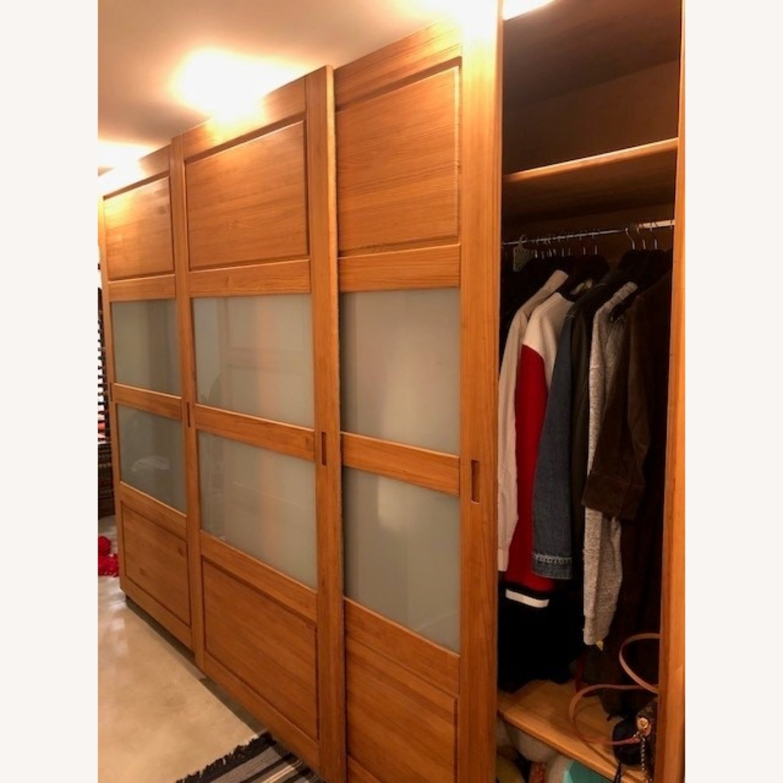 Hardwood Large Wardrobe - image-2