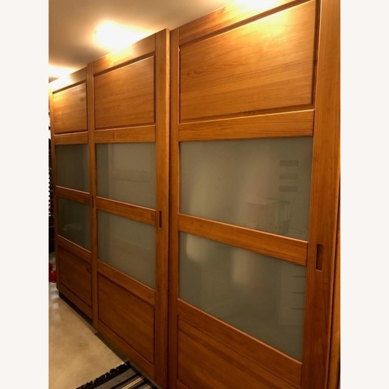 Hardwood Large Wardrobe - image-1