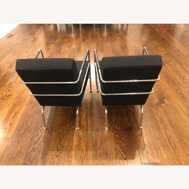 Custom Modern Black Accent Chairs - image-4