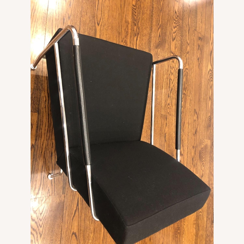 Custom Modern Black Accent Chairs - image-3