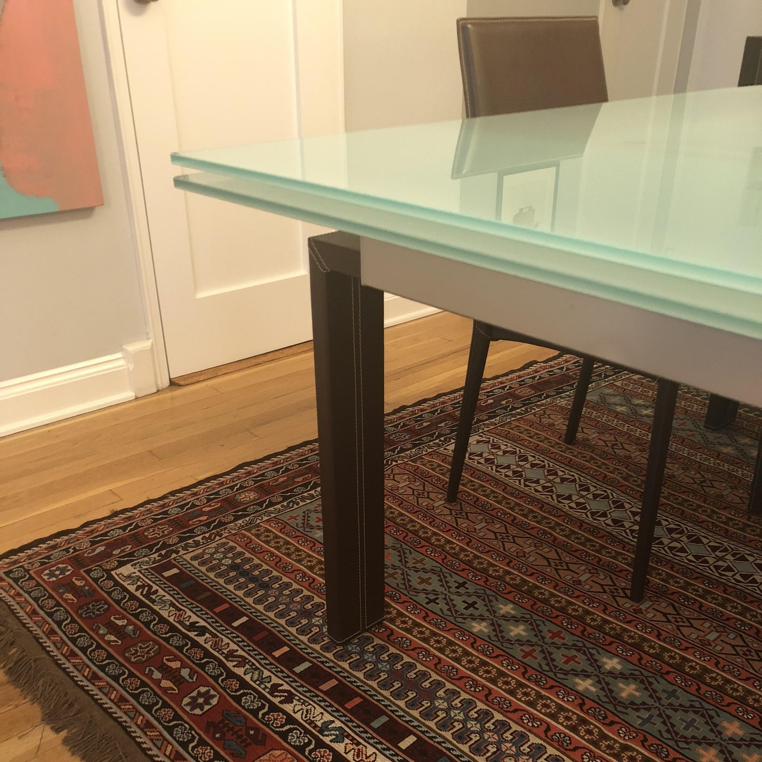 Calligaris Extension Table w/ 4 Chairs - image-5