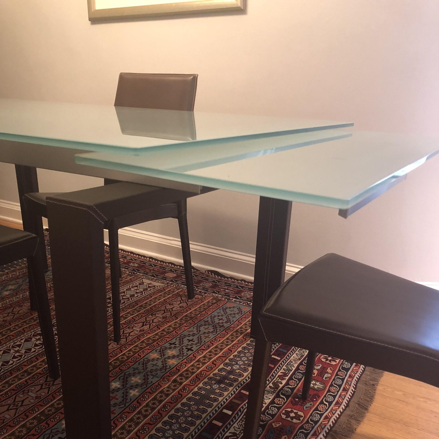 Calligaris Extension Table w/ 4 Chairs - image-3