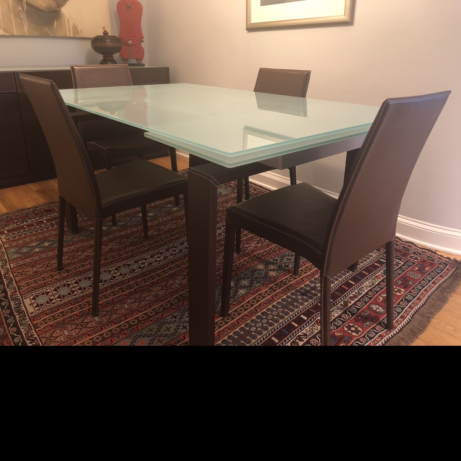 Calligaris Extension Table w/ 4 Chairs - image-10