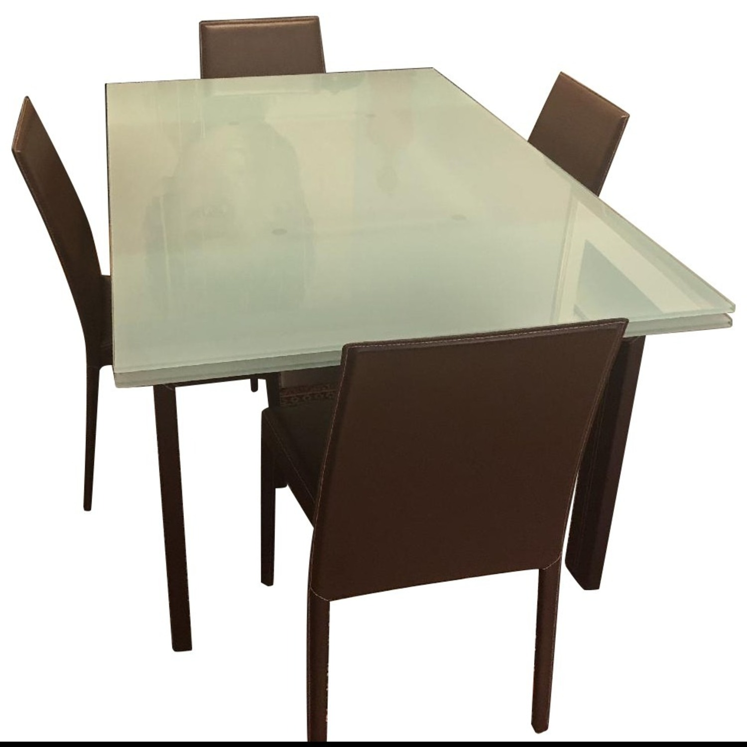 Calligaris Extension Table w/ 4 Chairs - image-1