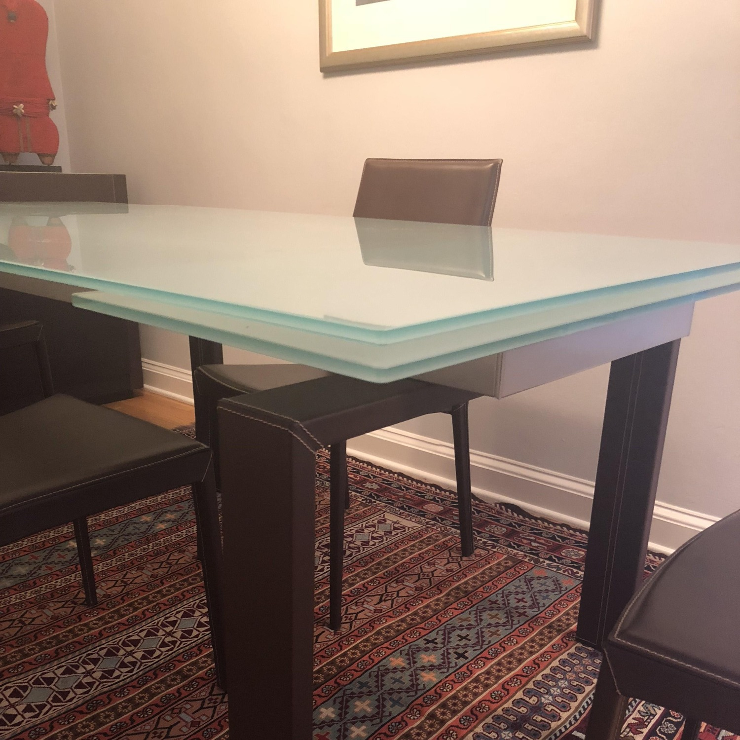 Calligaris Extension Table w/ 4 Chairs - image-4