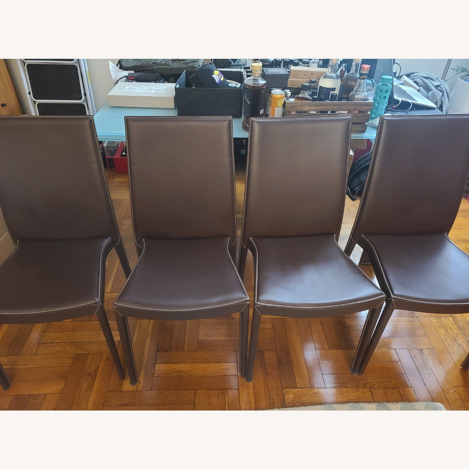 Calligaris Extension Table w/ 4 Chairs - image-18