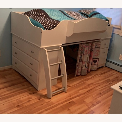 Used Twin Loft Bed by South Shore Furniture for sale on AptDeco