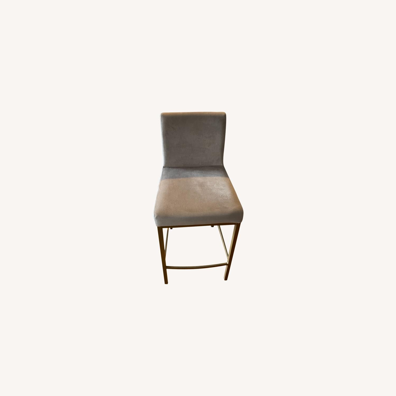 TOV Furniture Velvet Counter Stools - image-0