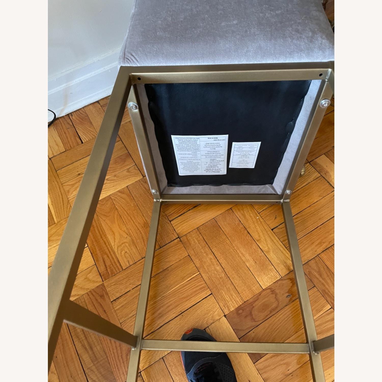 TOV Furniture Velvet Counter Stools - image-8