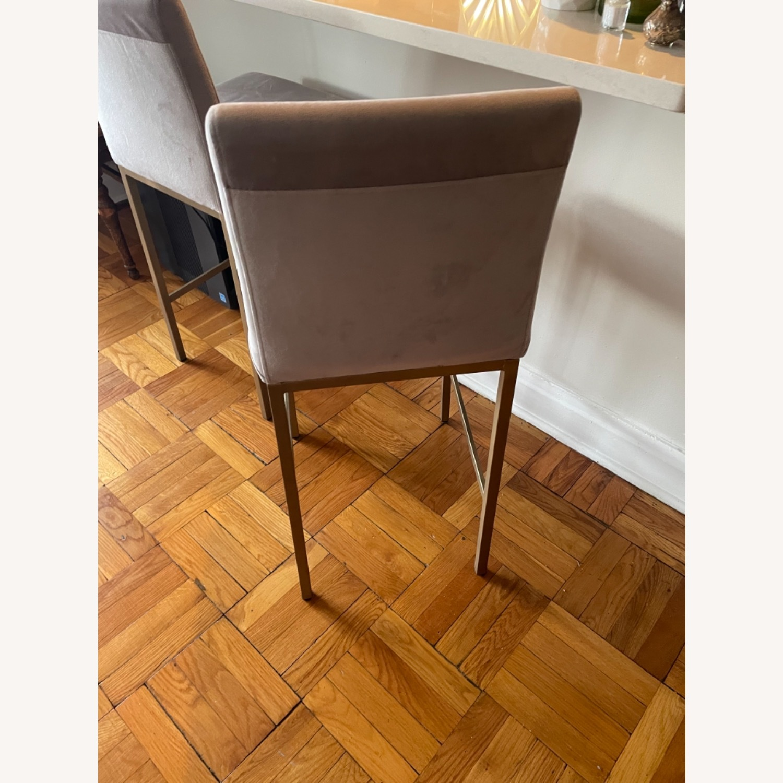 TOV Furniture Velvet Counter Stools - image-5