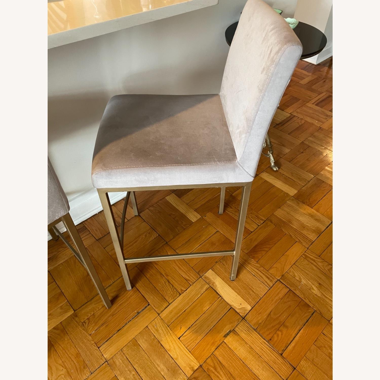 TOV Furniture Velvet Counter Stools - image-6