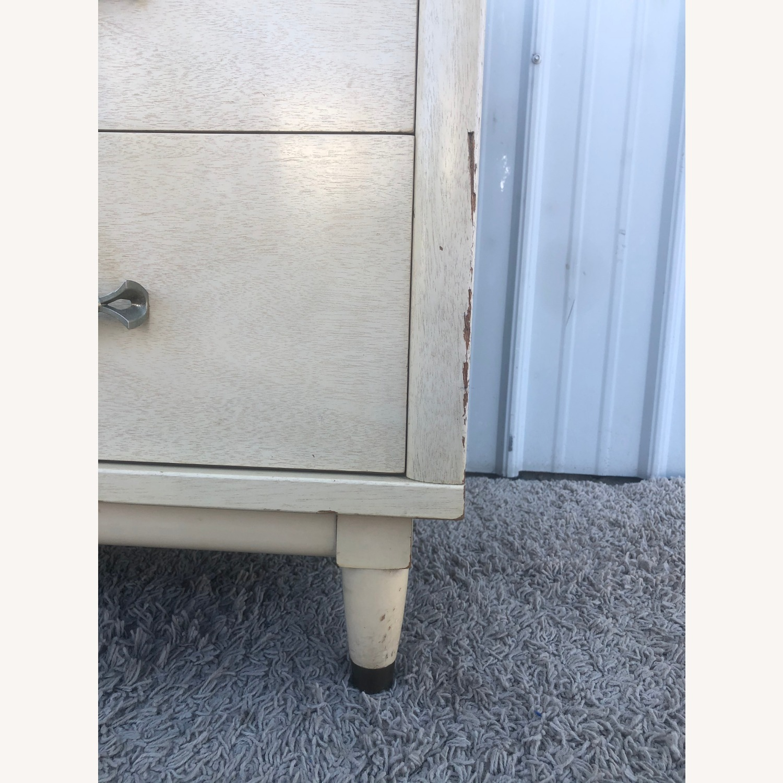 Mid Century Blonde Lowboy Dresser - image-25
