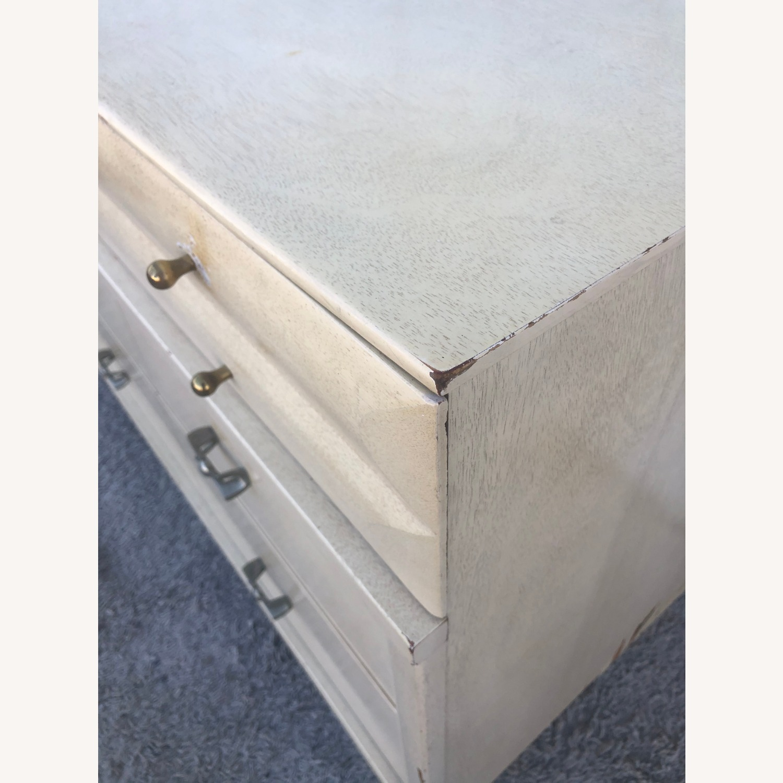 Mid Century Blonde Lowboy Dresser - image-24