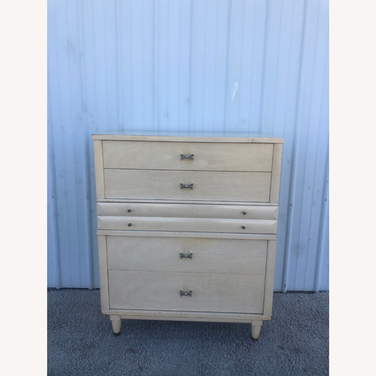 Mid Century Blonde Highboy by Huntley - image-17