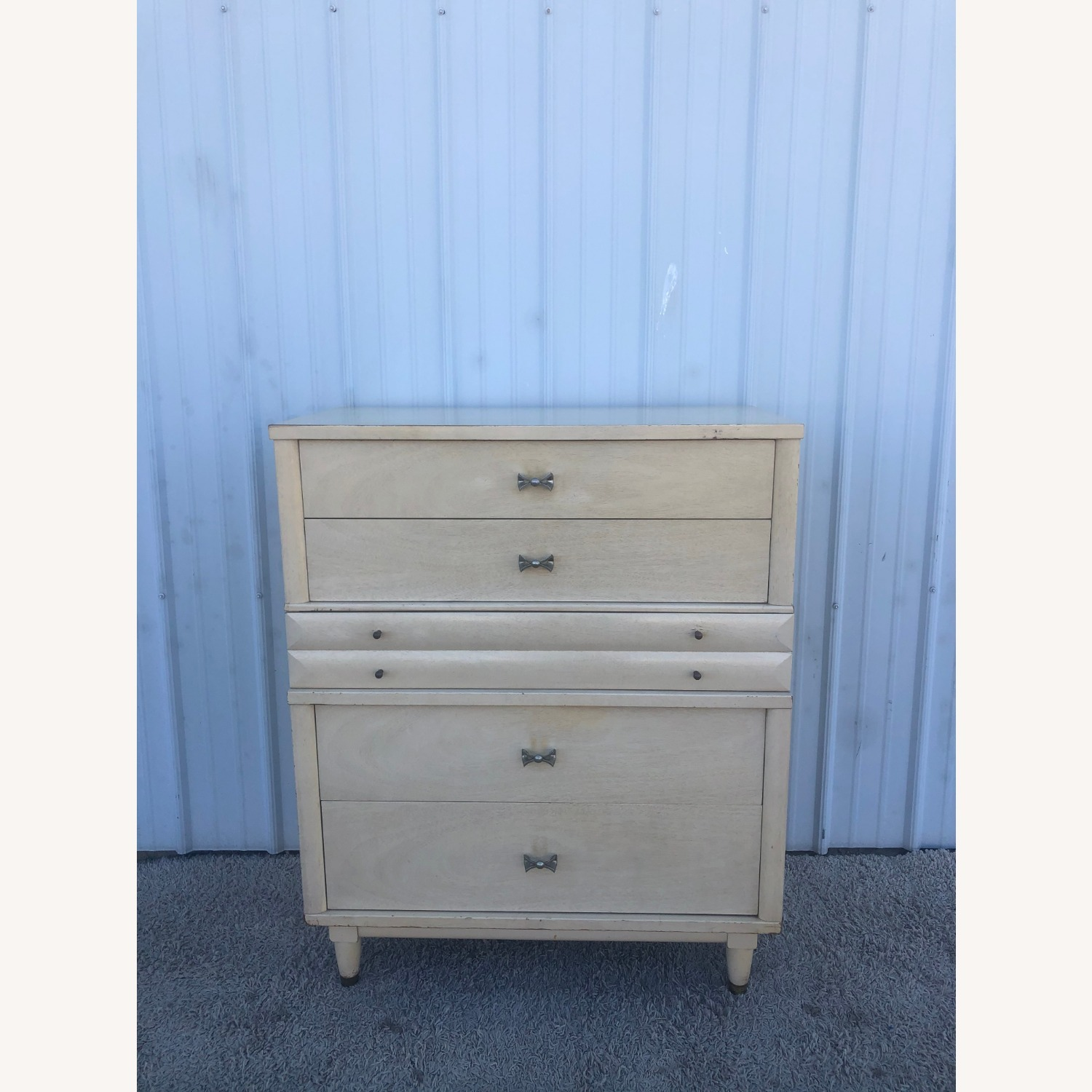 Mid Century Blonde Highboy by Huntley - image-6