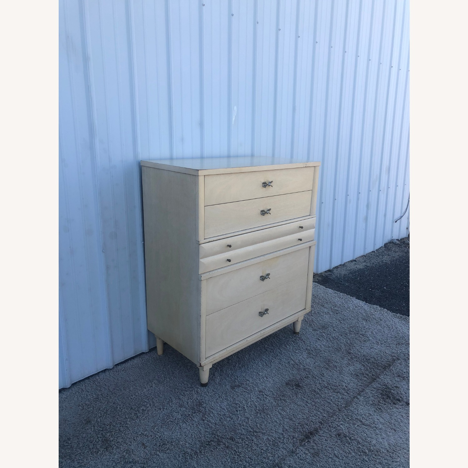 Mid Century Blonde Highboy by Huntley - image-5