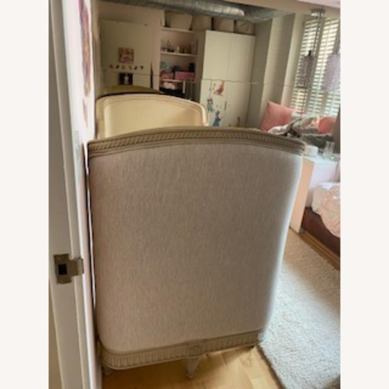 Restoration Hardware Belle Upholstered Crib - image-2