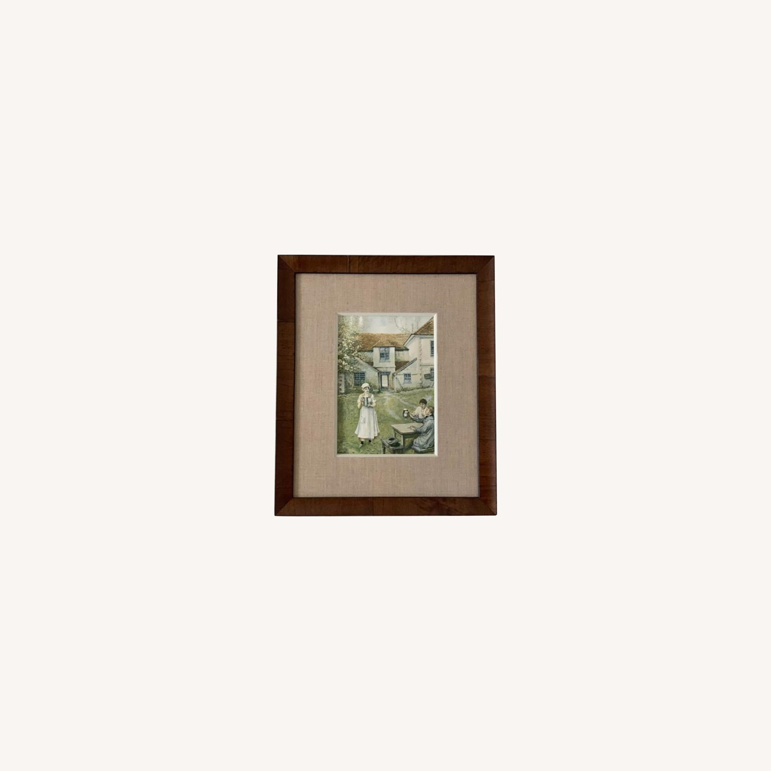 High Quality Framed Vintage Farmhouse Print - image-0