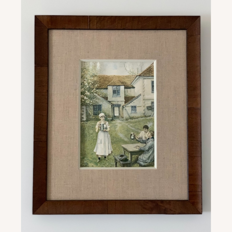 High Quality Framed Vintage Farmhouse Print - image-1