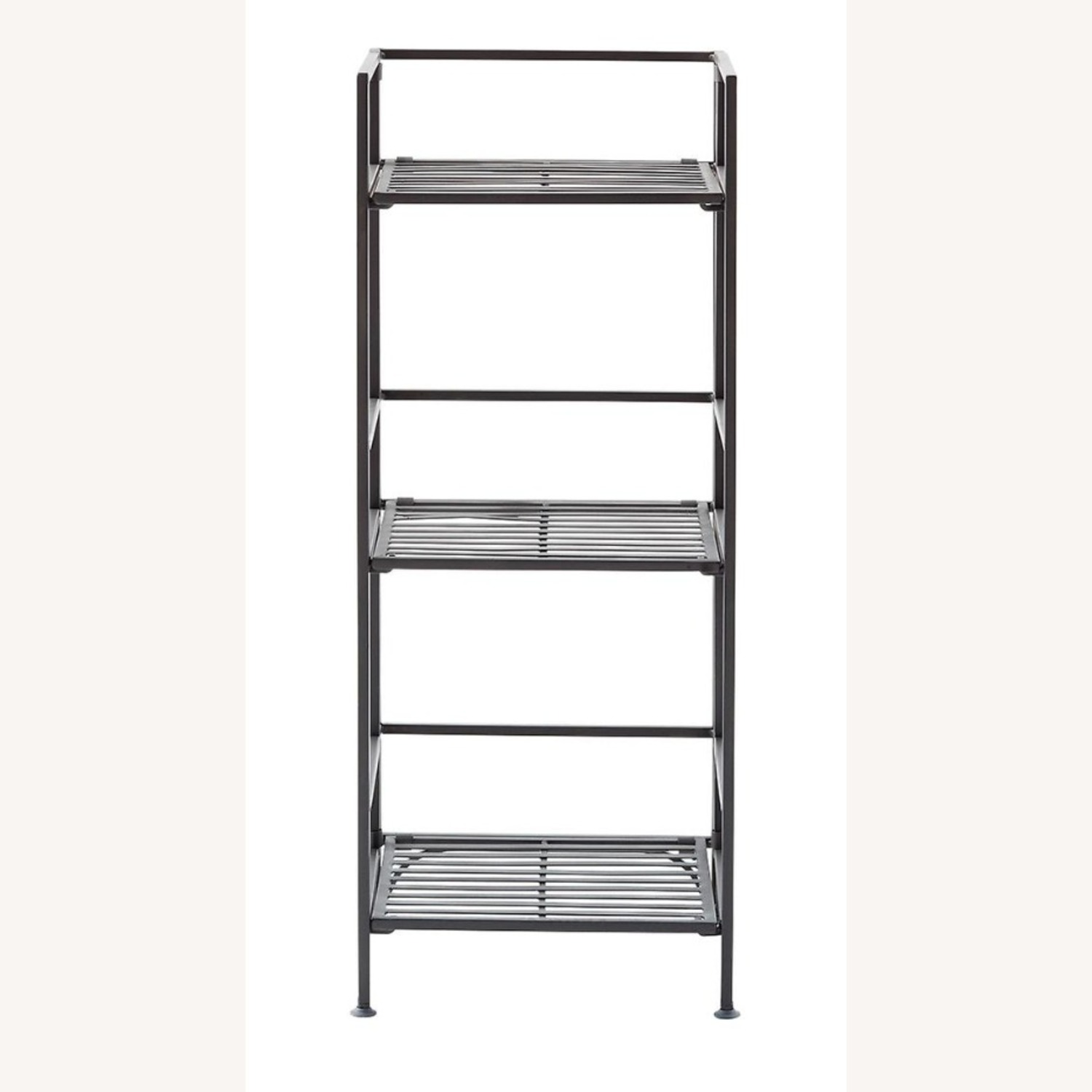 Container Store 3-Shelf Iron Folding Bookshelf - image-2