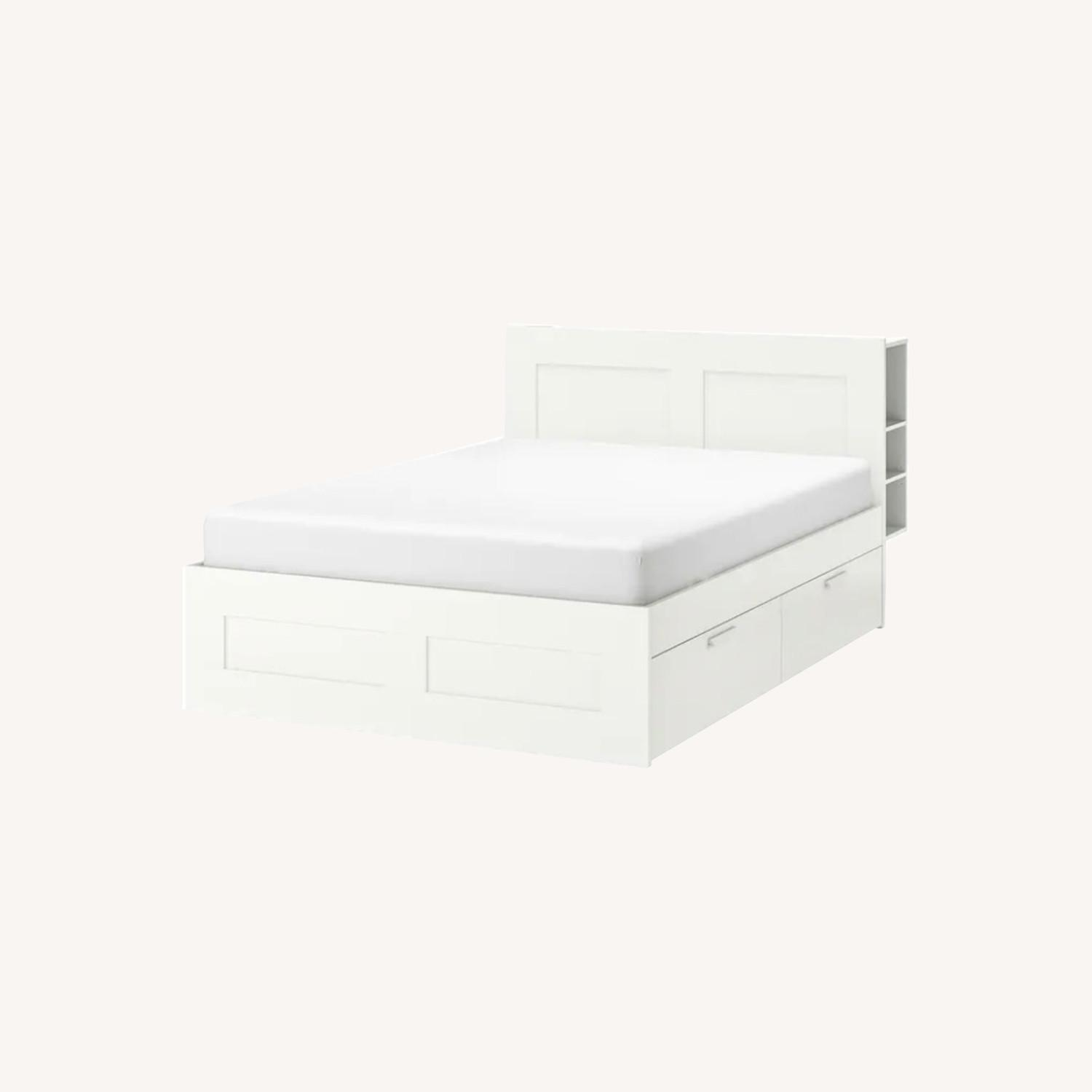 IKEA Bed Frame with Storage - image-0