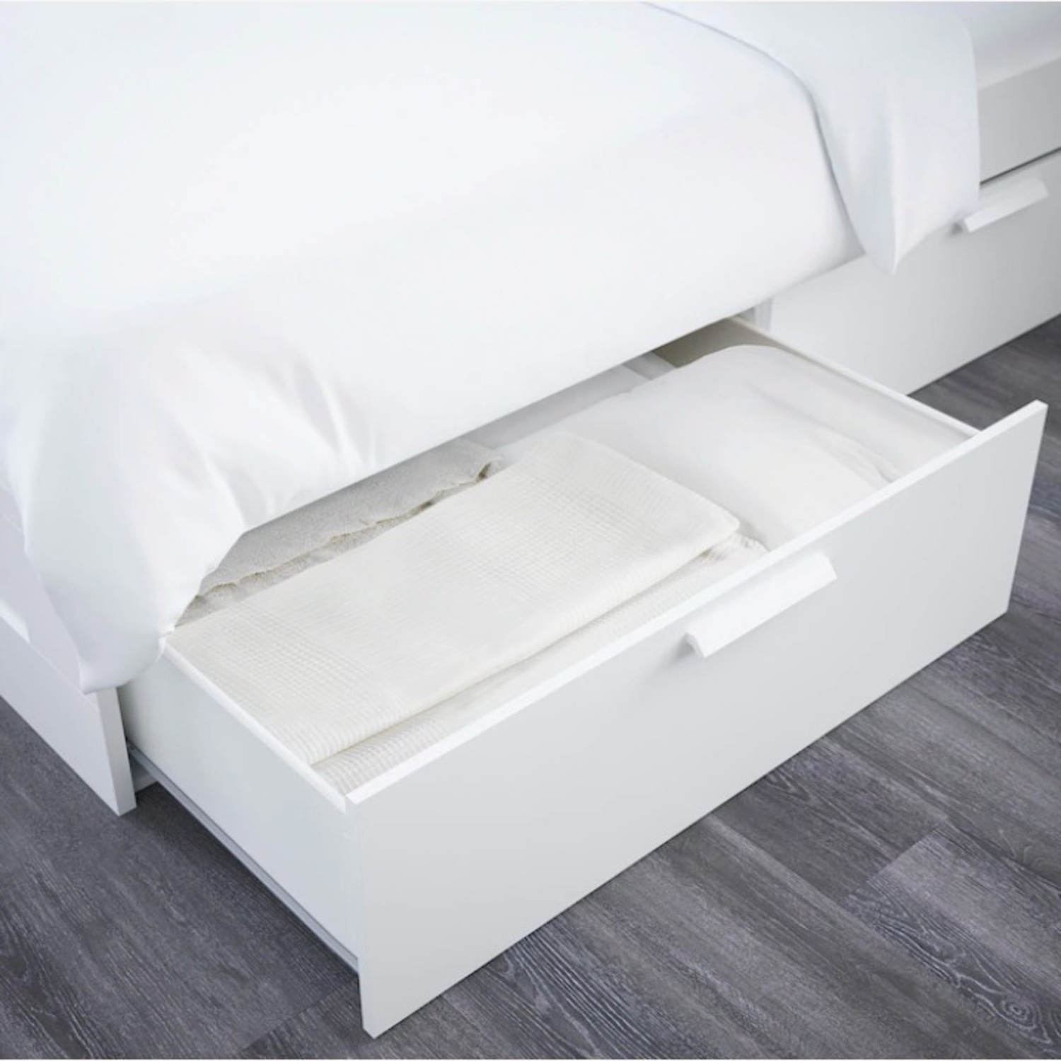 IKEA Bed Frame with Storage - image-4
