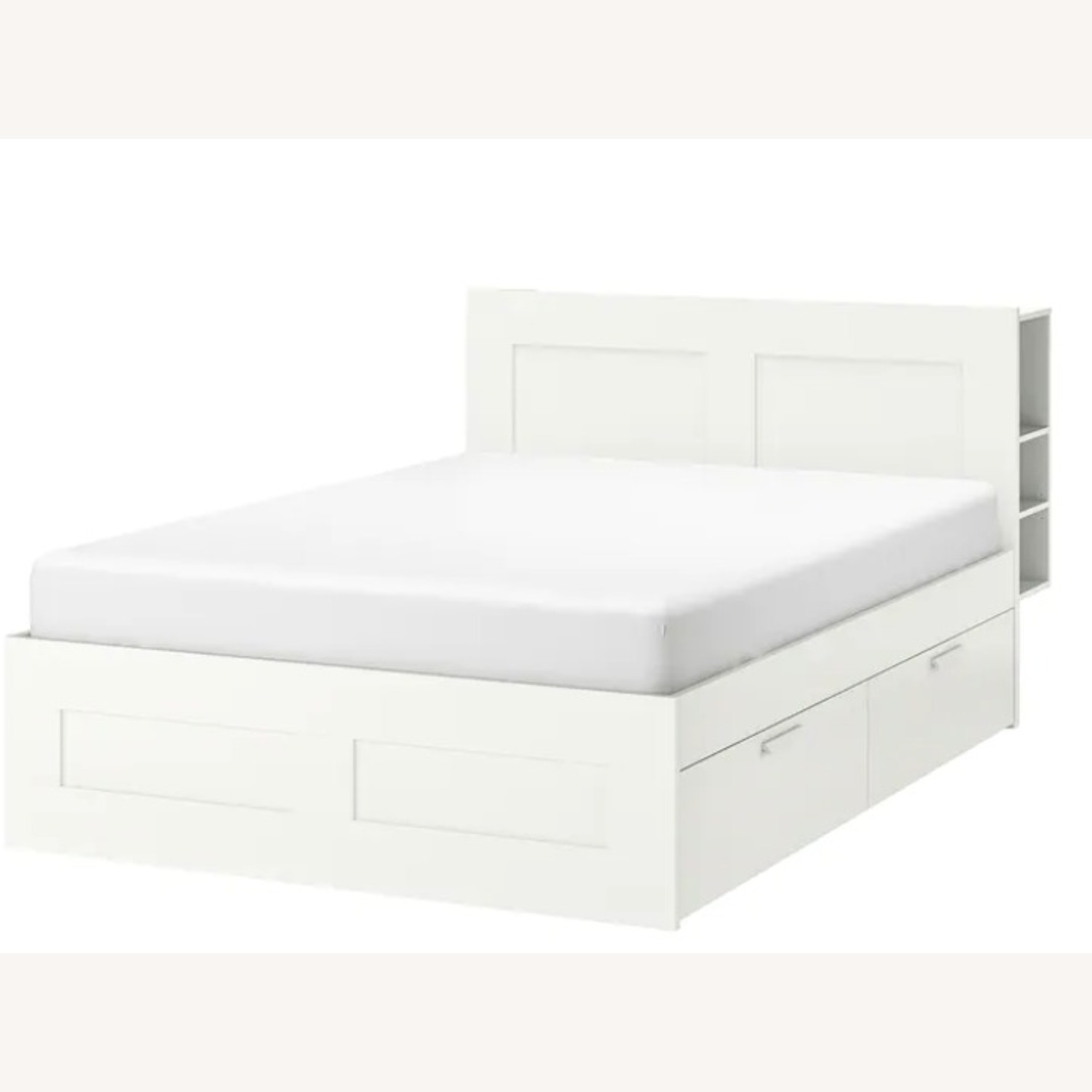 IKEA Bed Frame with Storage - image-1