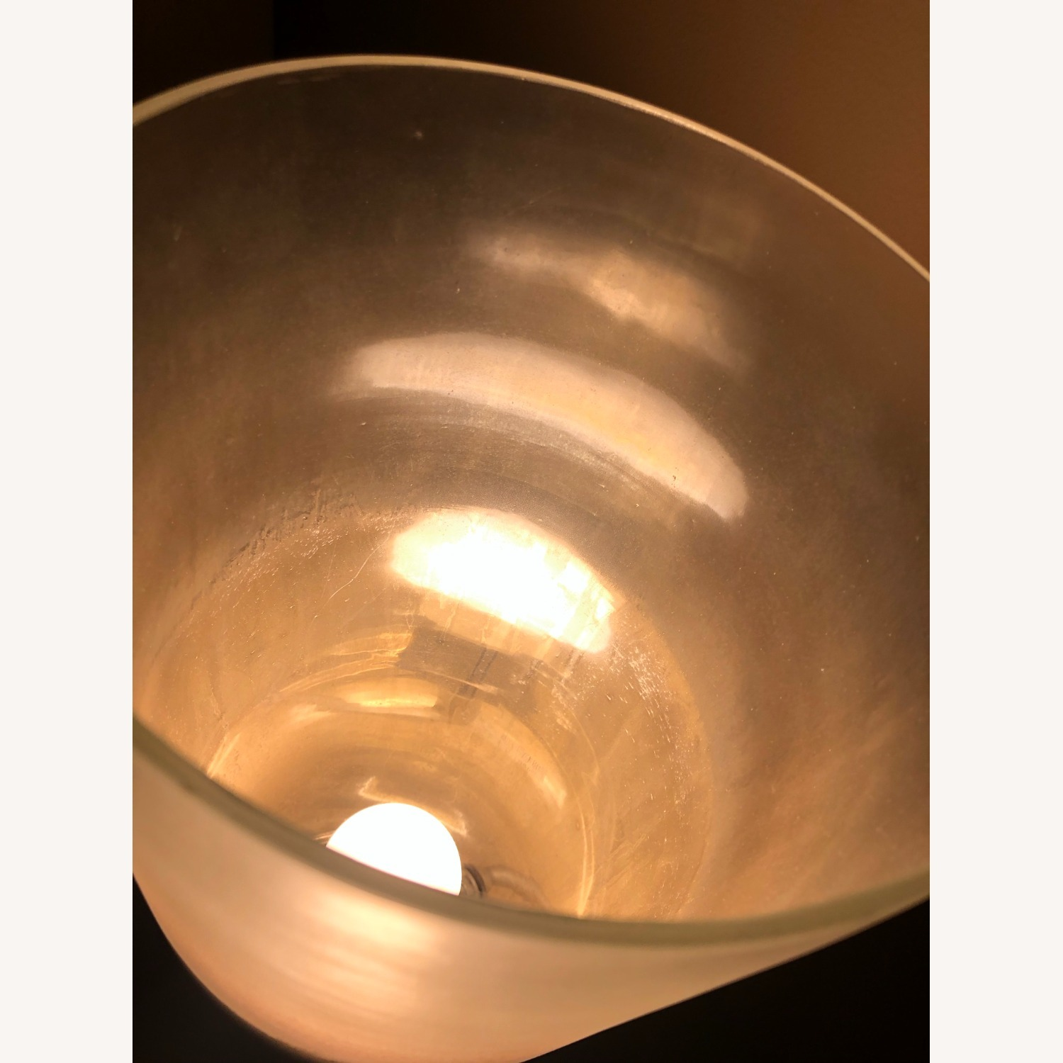 Designer Arteriors Silver/Clear Table Lamp - image-6
