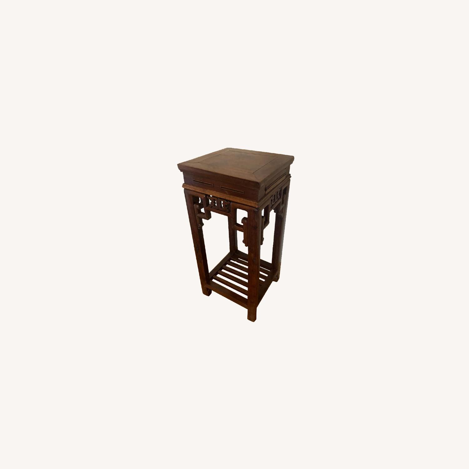 ABC Carpet and Home Chinese Antique Wood Pedestal - image-0