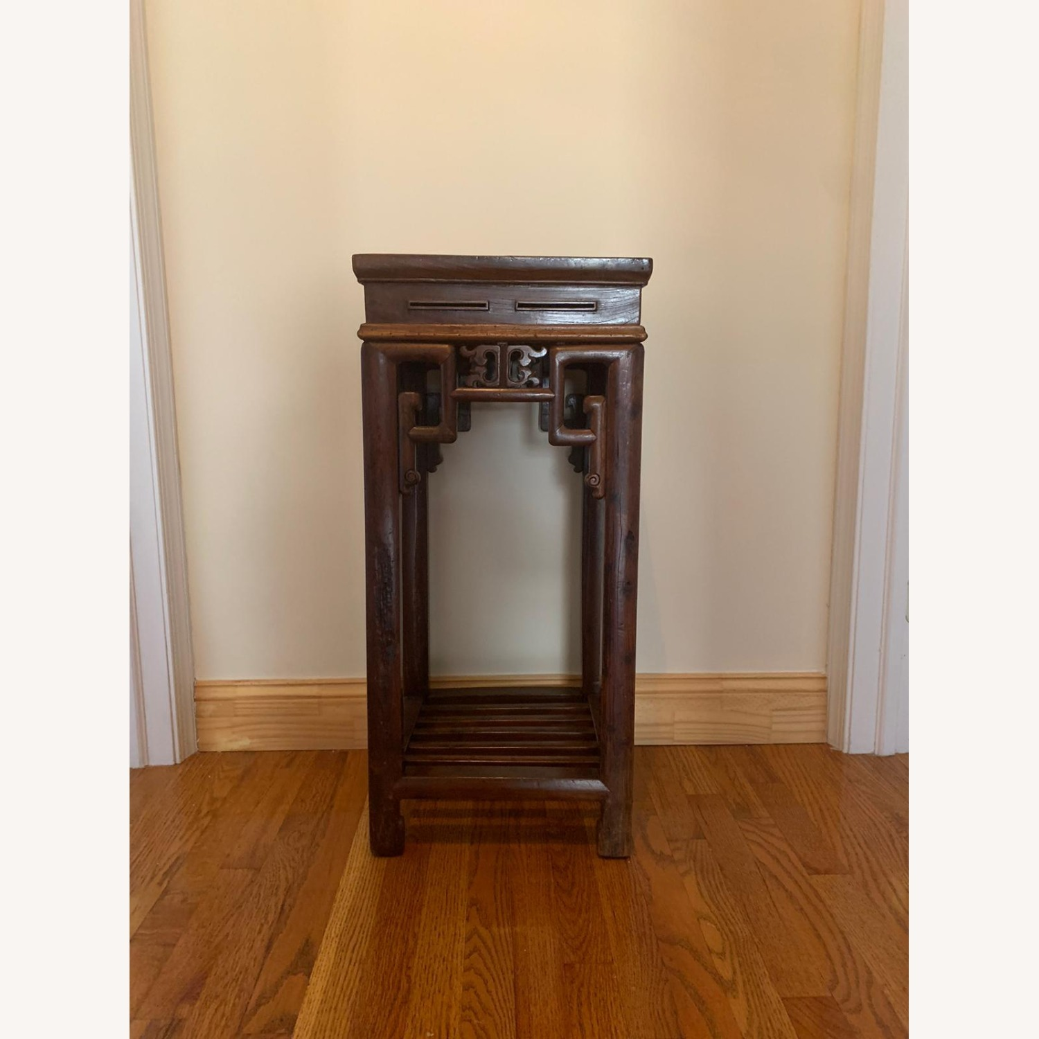ABC Carpet and Home Chinese Antique Wood Pedestal - image-1