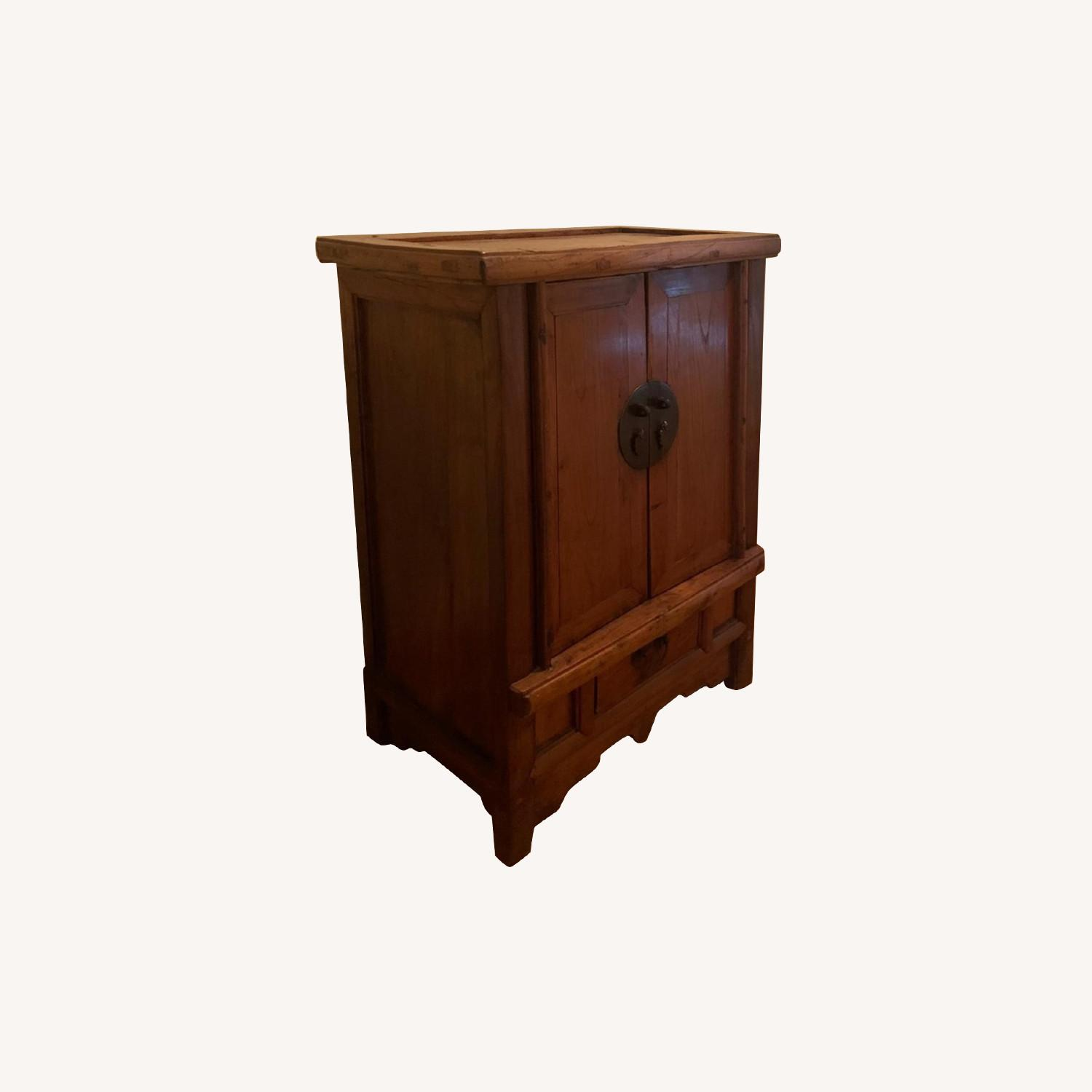 ABC Carpet and Home Antique Wood Chest - image-0