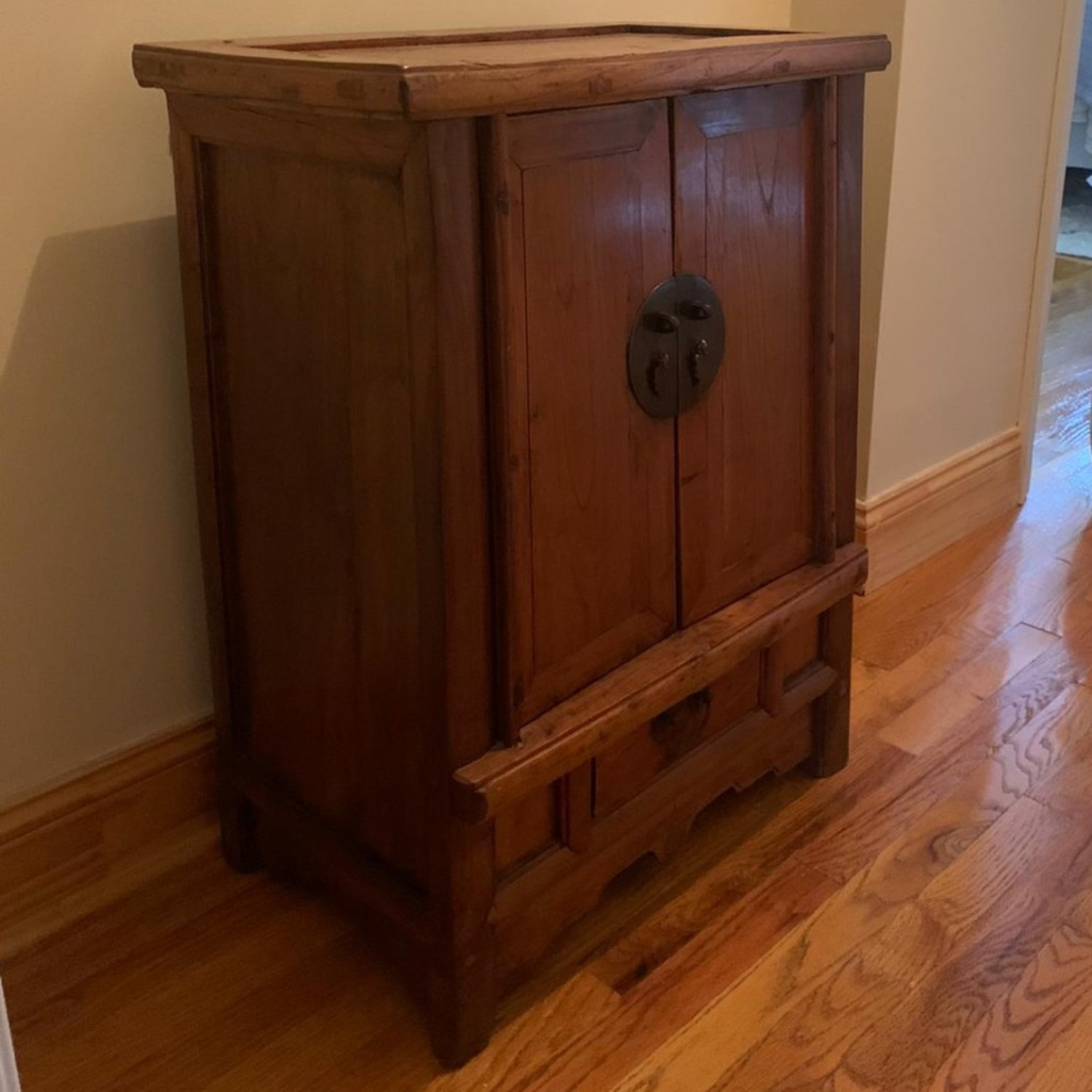 ABC Carpet and Home Antique Wood Chest - image-2