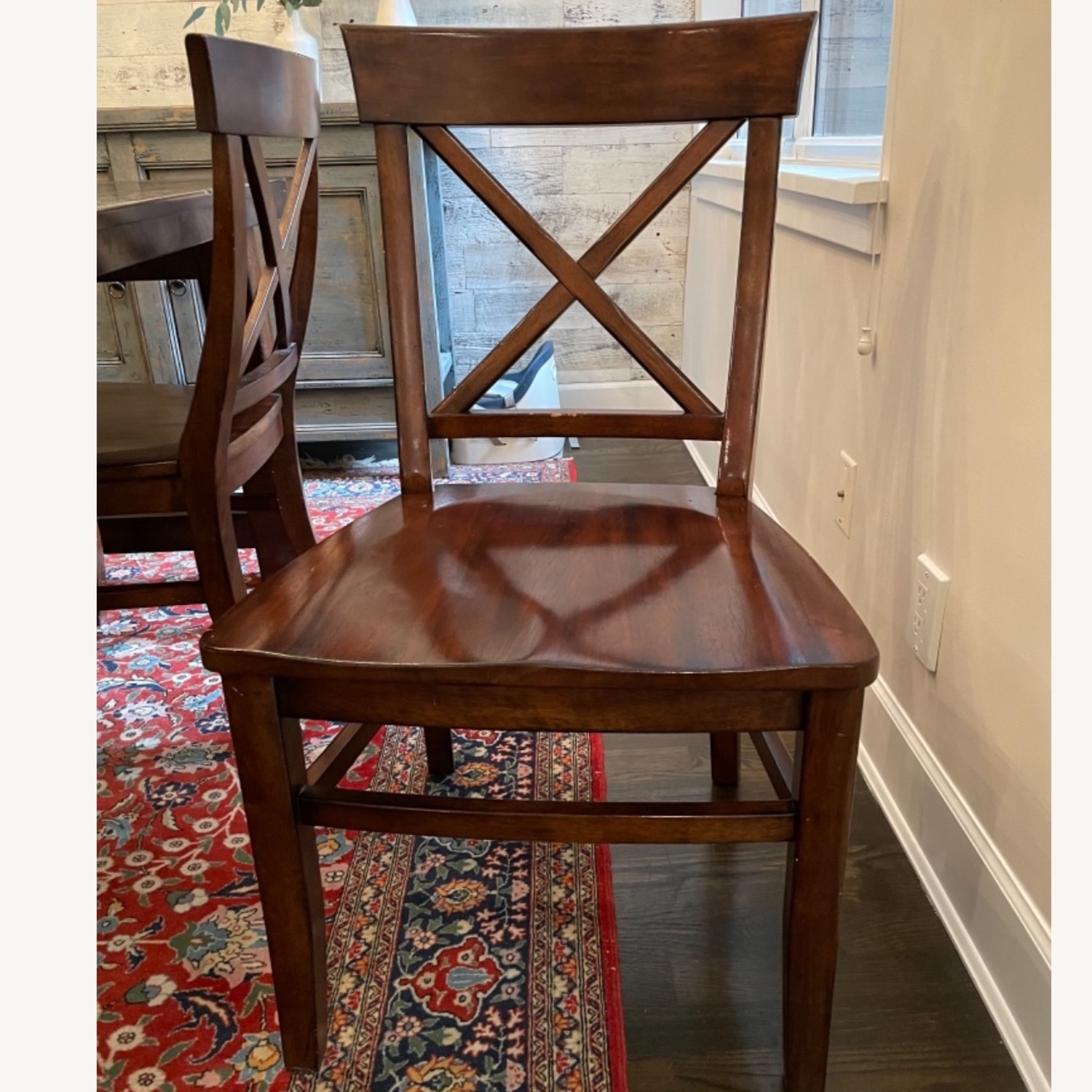 Pottery Barn Benchwright Extending Dining Set - image-3