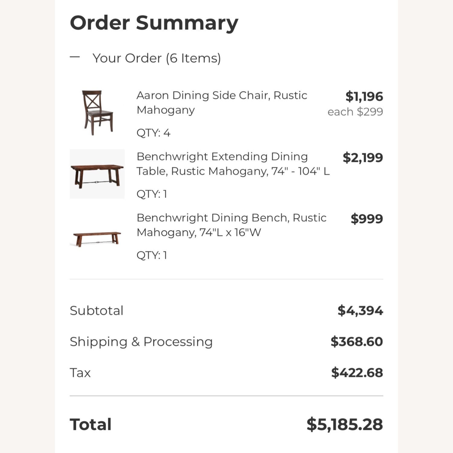 Pottery Barn Benchwright Extending Dining Set - image-2