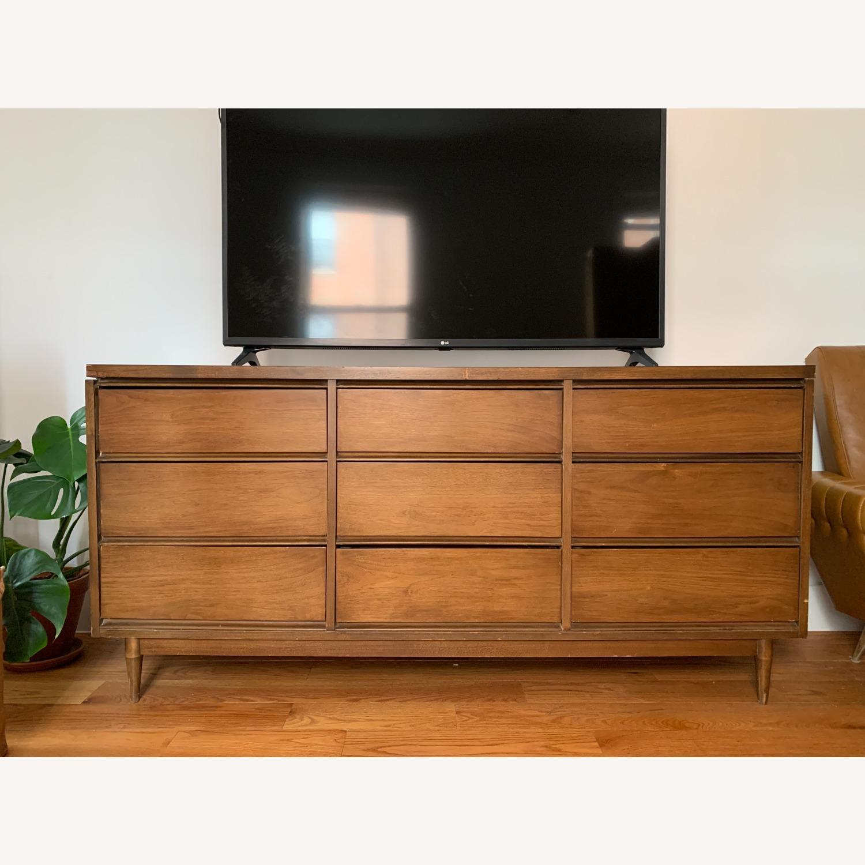 Vintage 1960s 9-Drawer Mid-Century Dresser - image-1