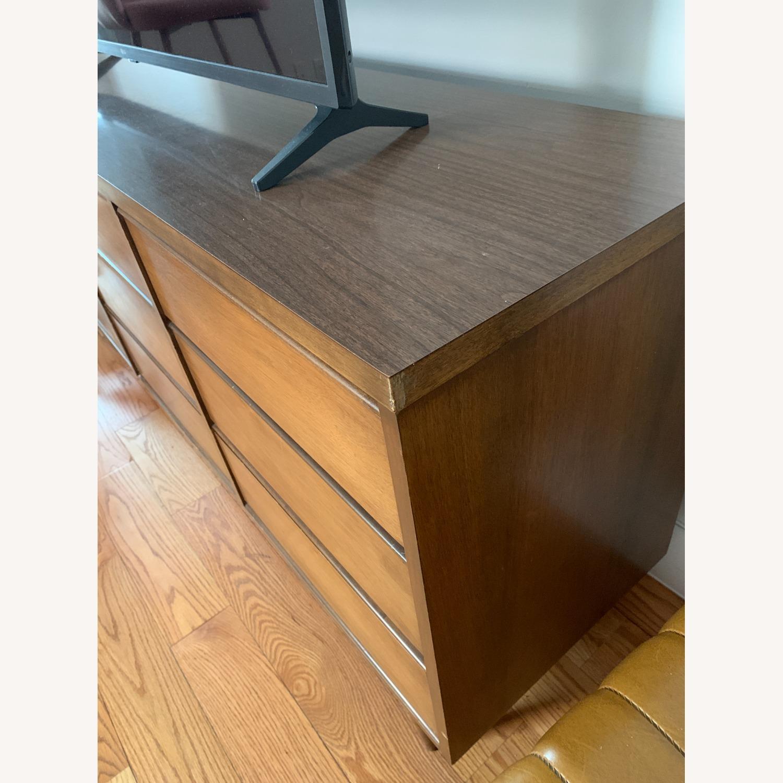 Vintage 1960s 9-Drawer Mid-Century Dresser - image-3