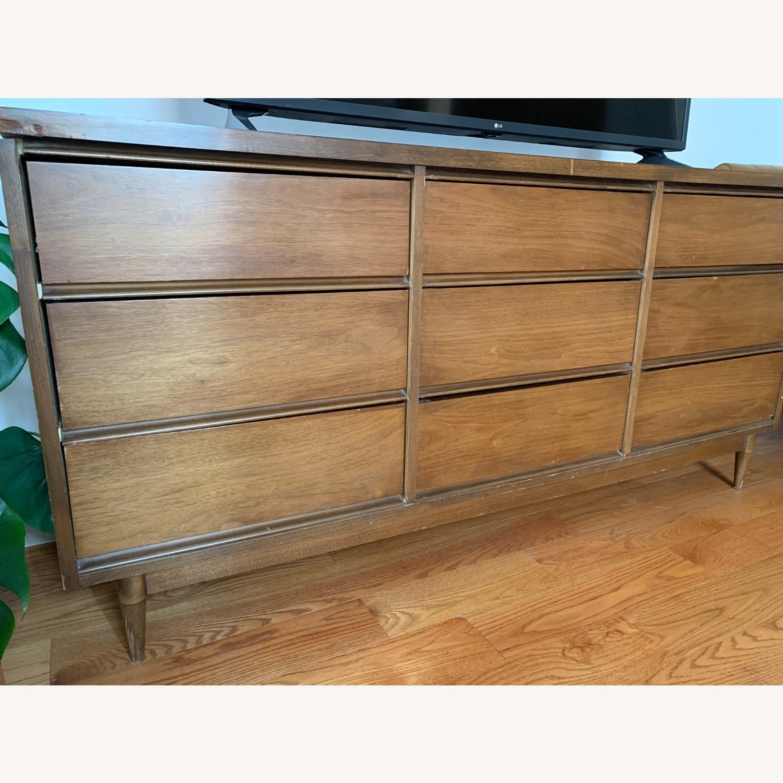 Vintage 1960s 9-Drawer Mid-Century Dresser - image-5