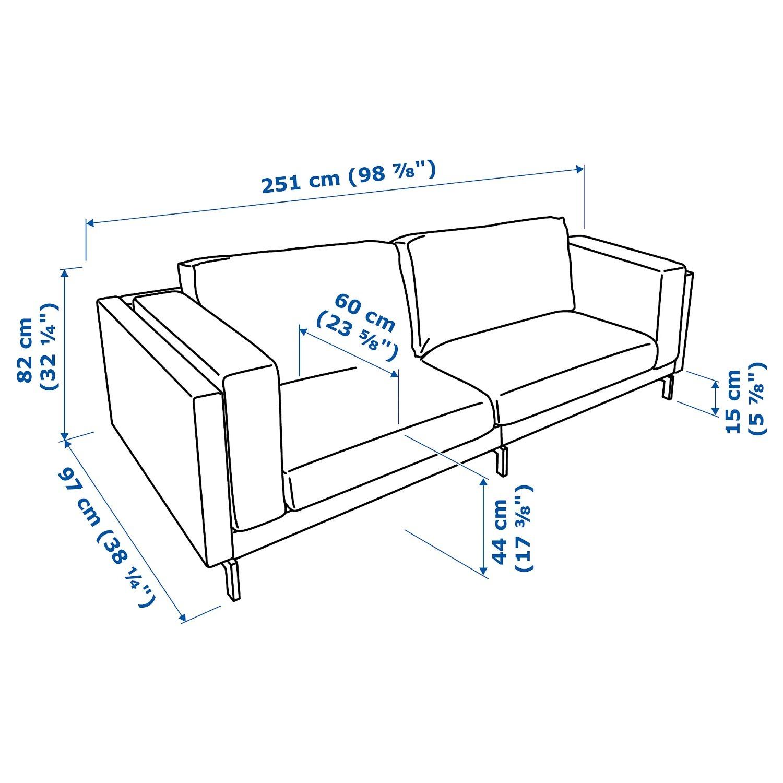 IKEA Nockeby Sofa - image-3