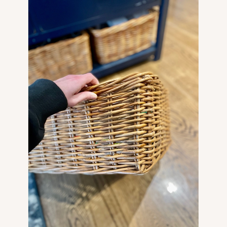 3 Wicker Storage Baskets - image-2