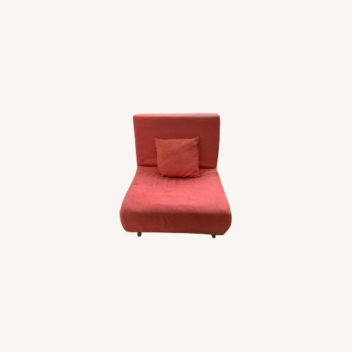 Used Mercury Row Wolfe Convertible Chair for sale on AptDeco
