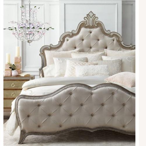 Used Hooker Furniture Sanctuary King Bed for sale on AptDeco