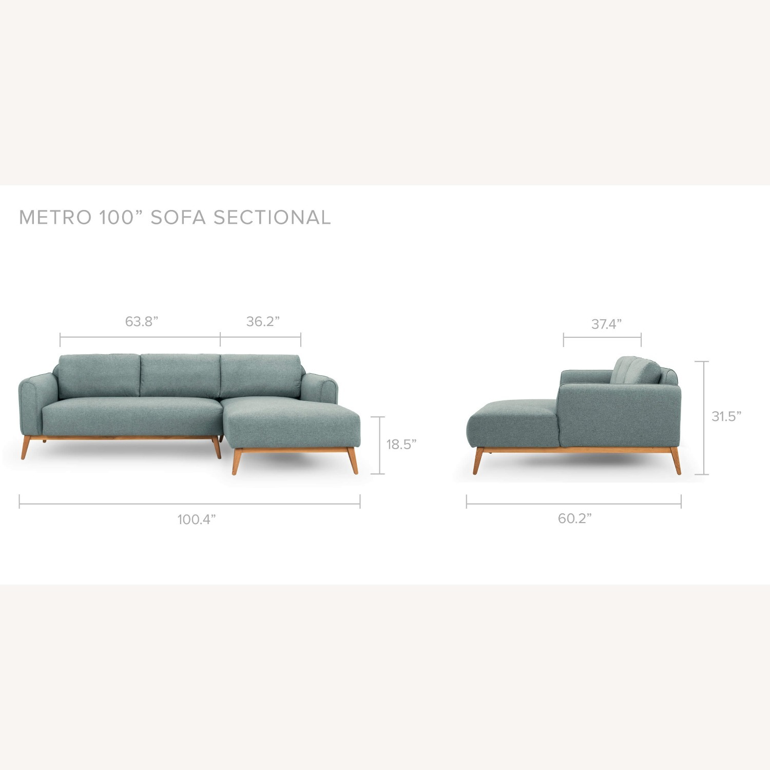 Kardiel Sectional Sofa - image-2