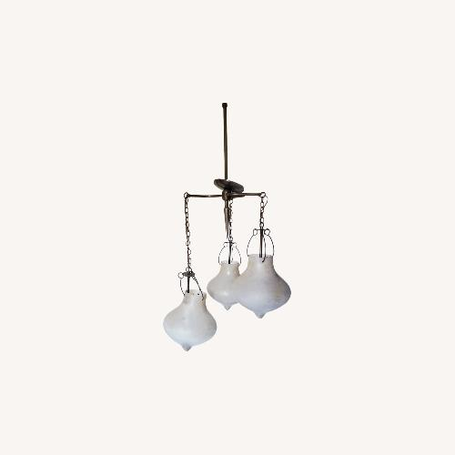 Used Houzz 3-Arm Scavo Chandelier ll for sale on AptDeco