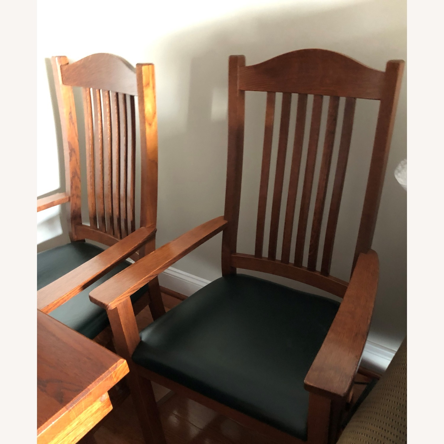 Mission-style Dining Table & Chairs - image-6