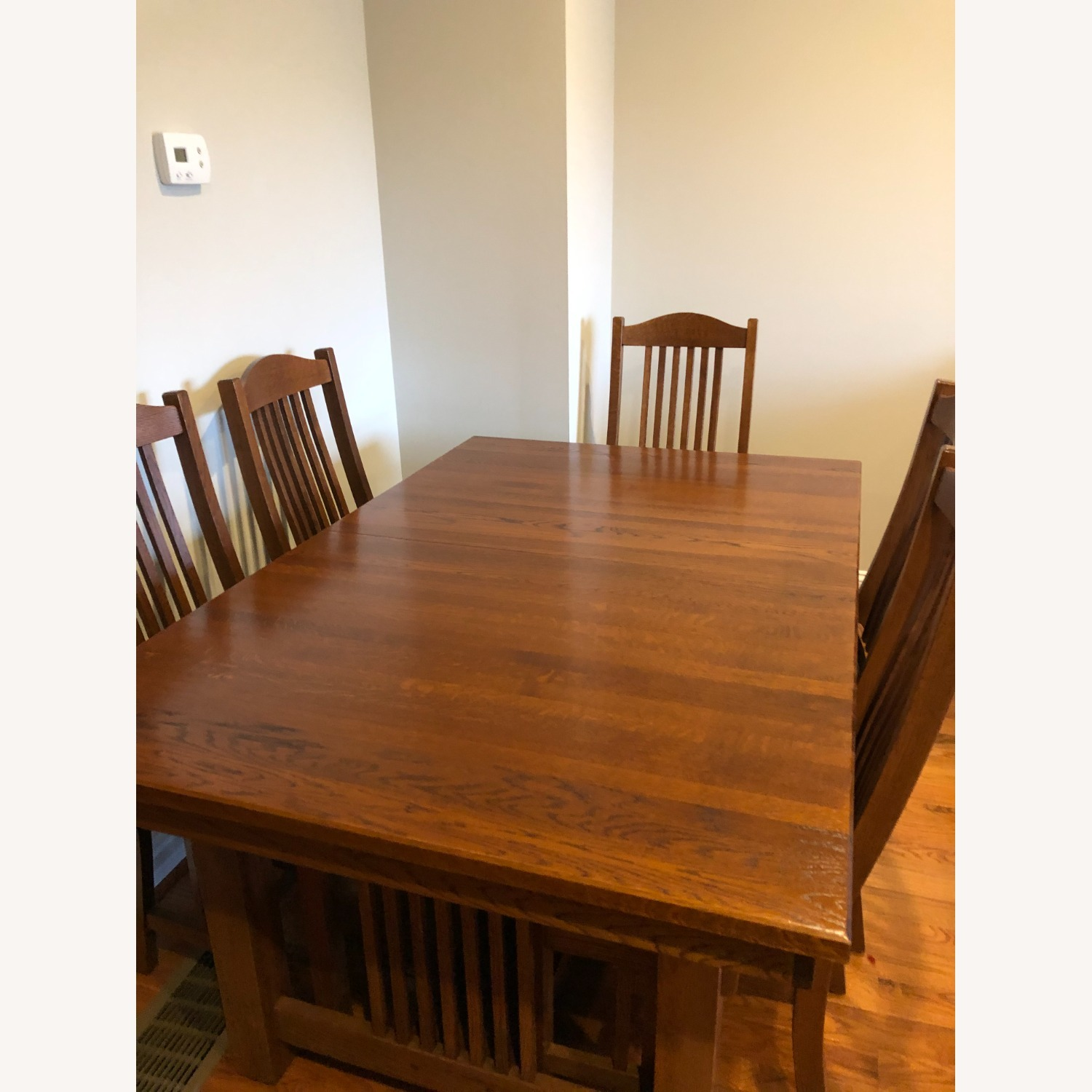 Mission-style Dining Table & Chairs - image-1