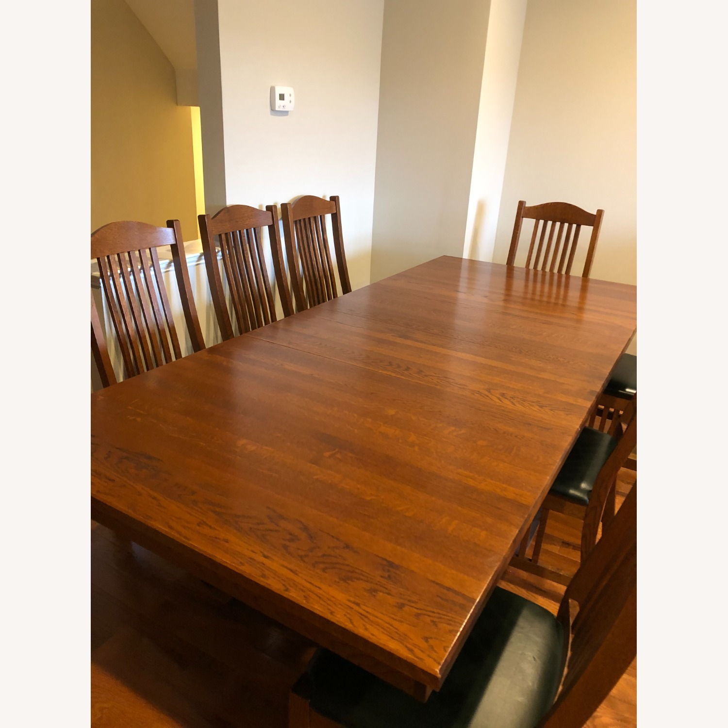 Mission-style Dining Table & Chairs - image-11