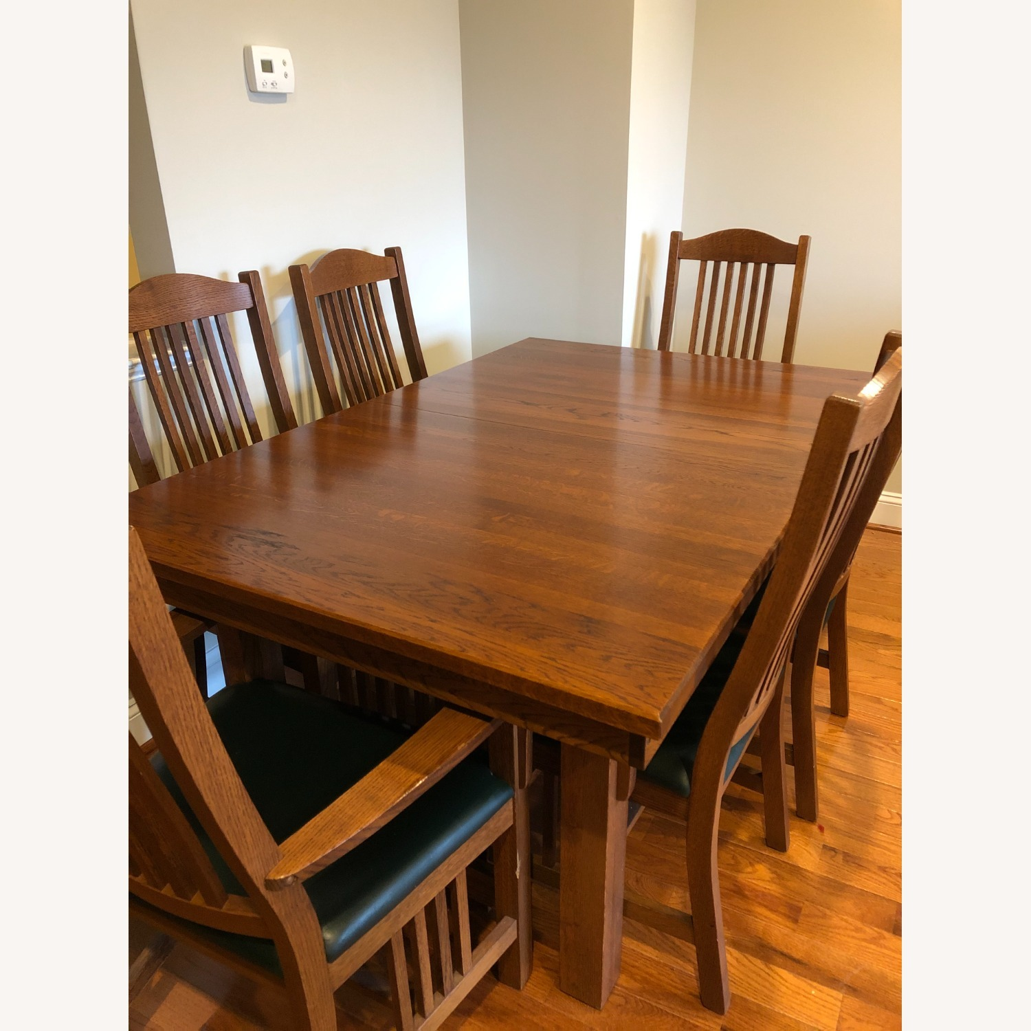 Mission-style Dining Table & Chairs - image-13